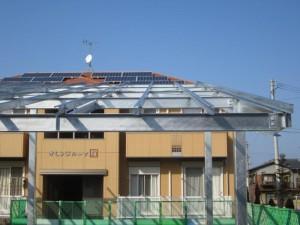 太陽光発電の土台15