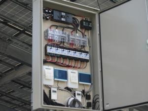 パネル設置・電気配線9