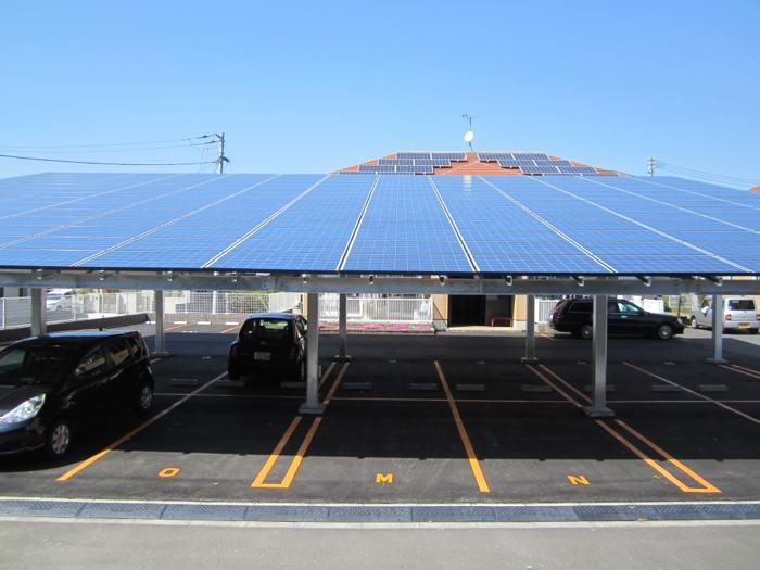 太陽光発電付カーポート